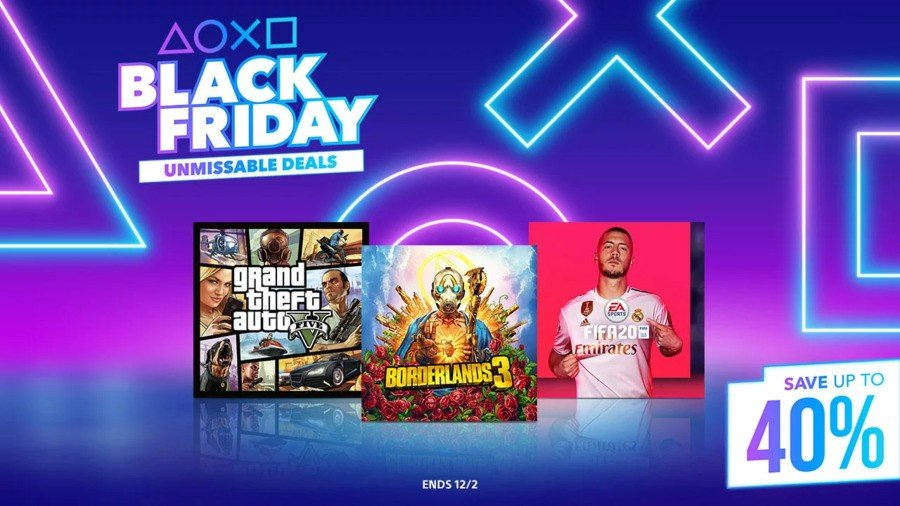 PS Store PlayStation Store Schwarzer Freitag 2019