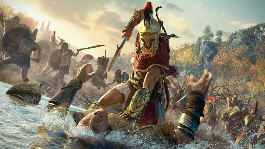 Assassins Creed Odyssey PS4 PlayStation 4