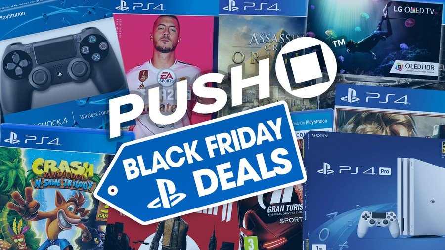 PS4 PlayStation 4 Black Friday 2019 Deals Guide