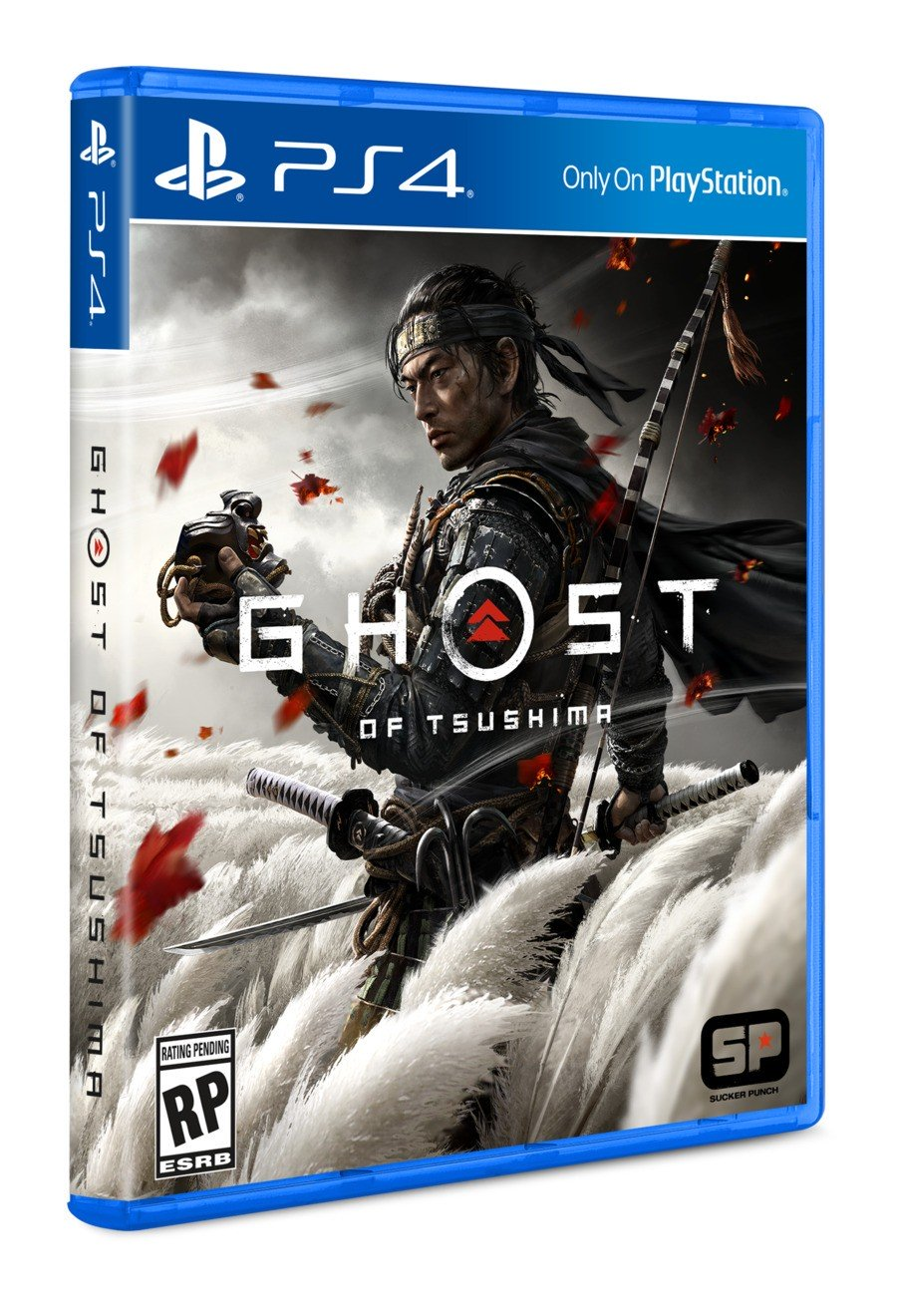 Ghost of Tsushima PS4 PlayStation 4 Box Art FAQ-Handbuch 2