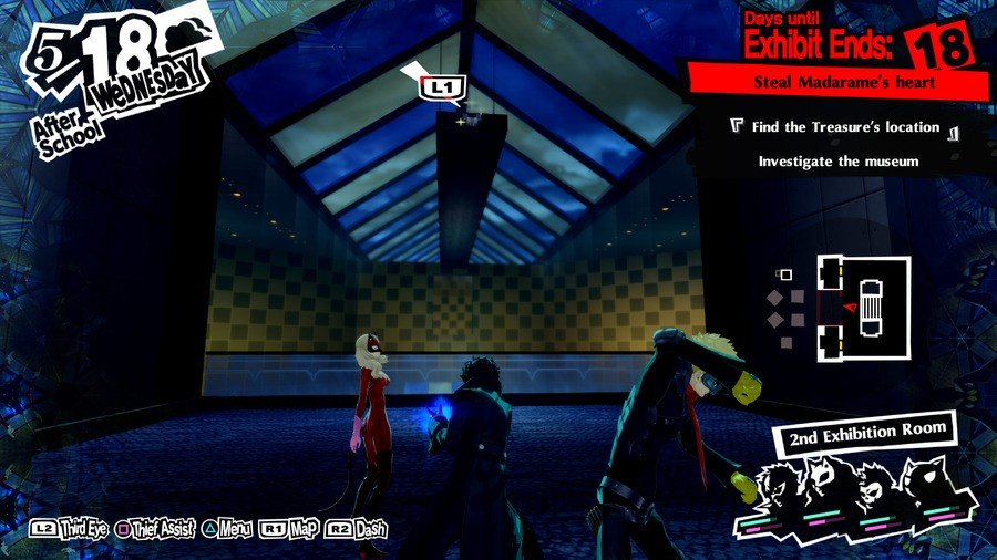Persona 5 Royal Will Seed Standorte Madarame Palace