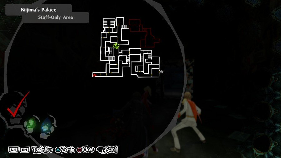 Persona 5 Royal Will Seed Locations Sae Palace