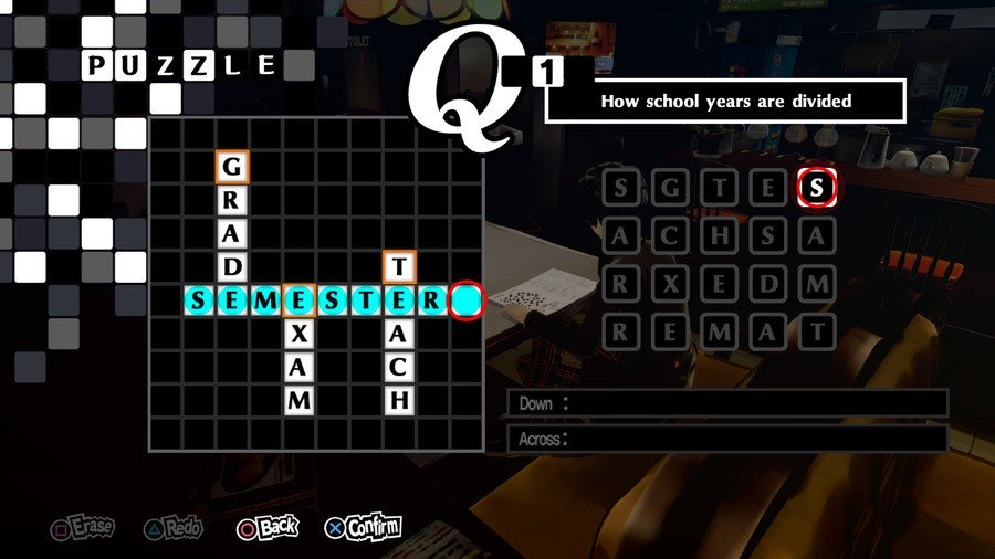 Persona 5 Royal All Crossword Answers Guide