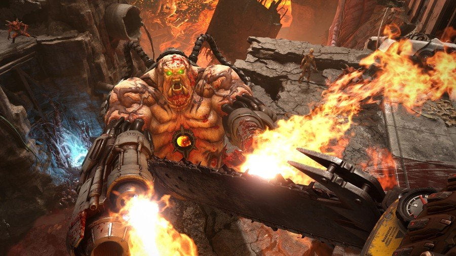 DOOM Ewige PS4 PlayStation 4