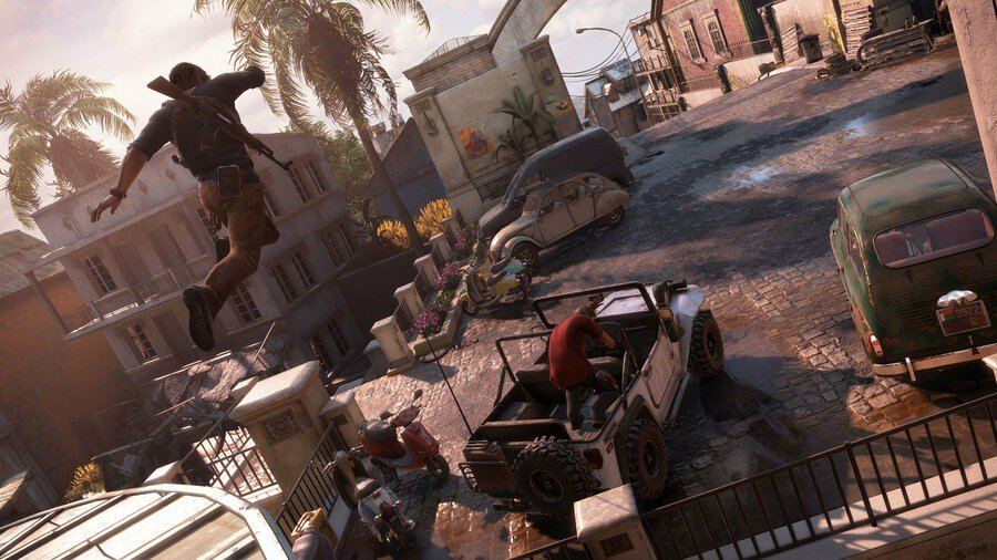 Uncharted 4: Das Ende eines Diebes PS4 PlayStation 4 2