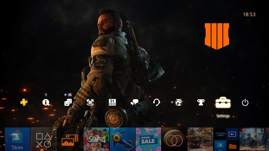 Call Of Duty Black Ops 4 Thema starten