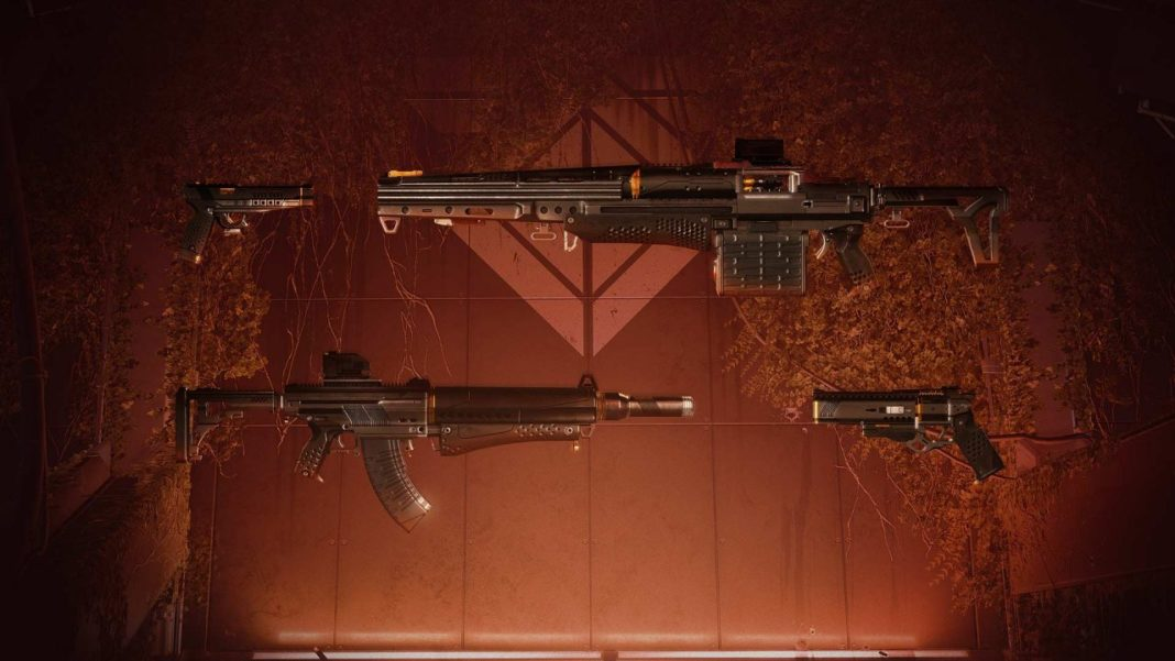 Destiny 2 - Seventh Seraph Weapons & Bunker Armory Guide