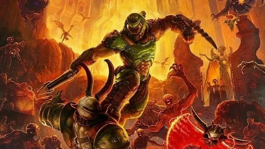 DOOM Eternal PS4 PlayStation 4 1