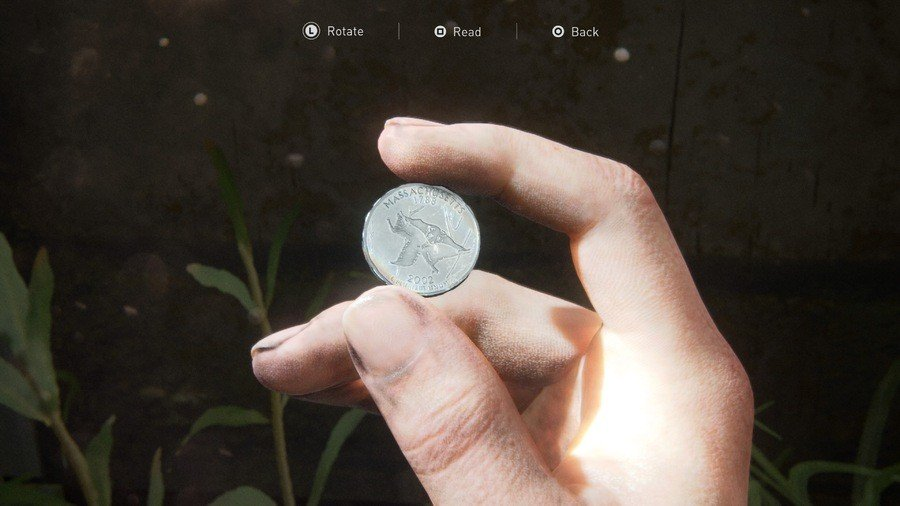 Der Letzte von uns 2 On Foot Collectibles Guide Coin 2