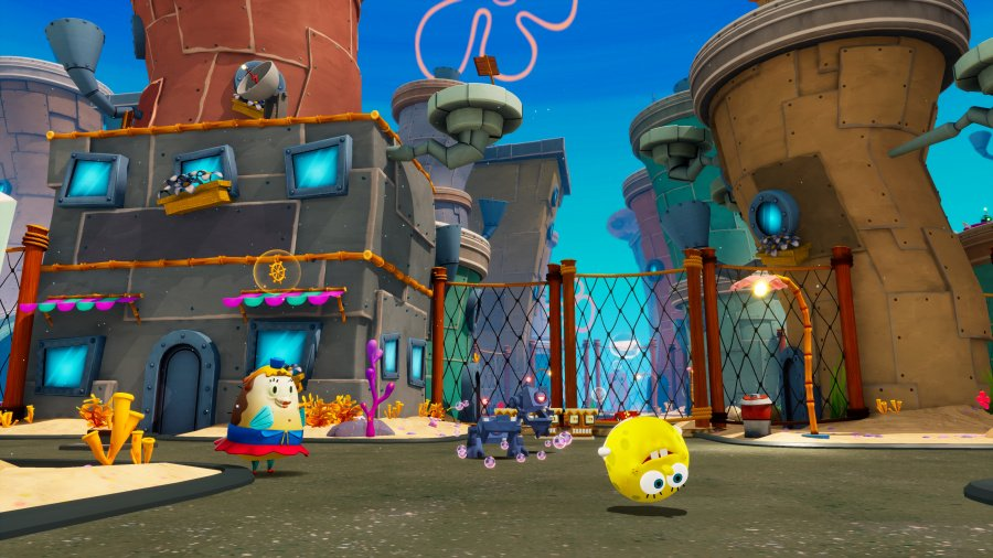 SpongeBob Schwammkopf: Battle for Bikini Bottom Rehydrated Review - Screenshot 1 von 3