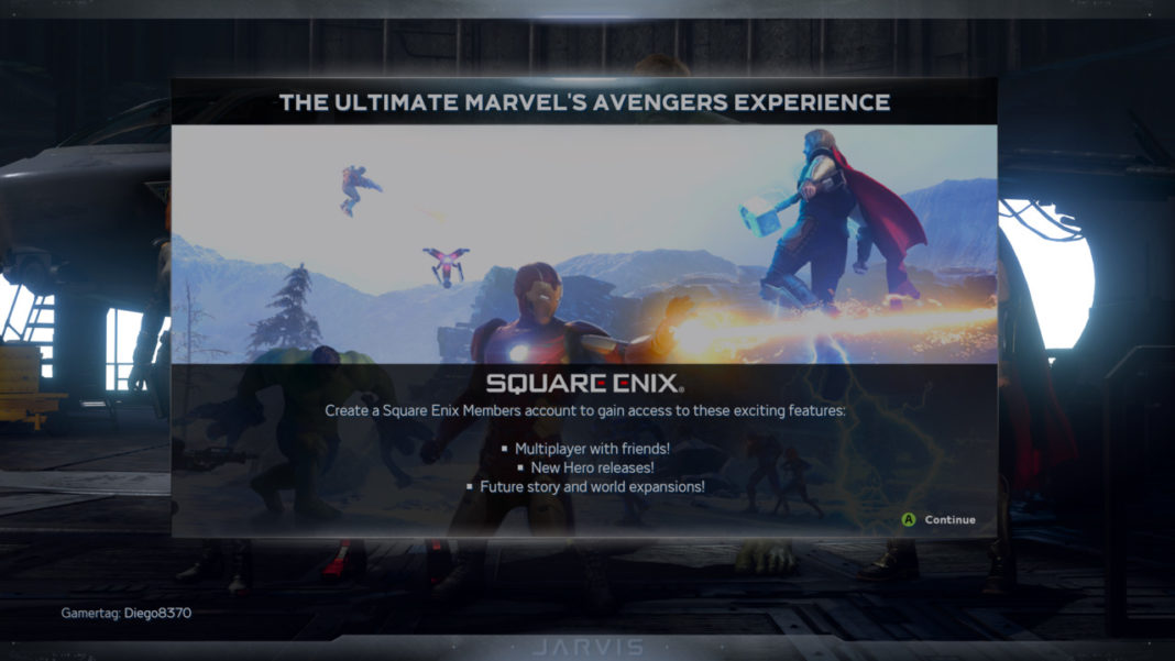 Marvels-Avengers-Square-Enix-Members-account