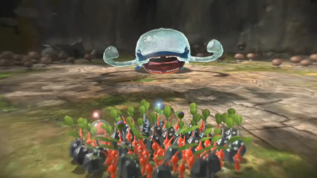 Pikmin-3-Deluxe-Boss-Guide-How-to-Beat-Armored-Mawdad
