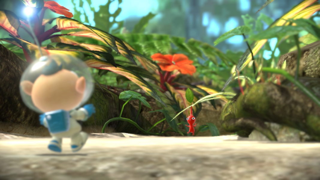 Pikmin-3-Deluxe-How-to-Pick-up-and-Throw-your-Partner-in-Co-op