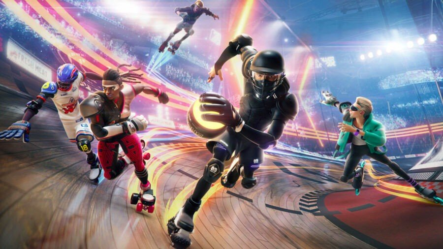 Roller Champions PS4 PlayStation 4 Closed Beta