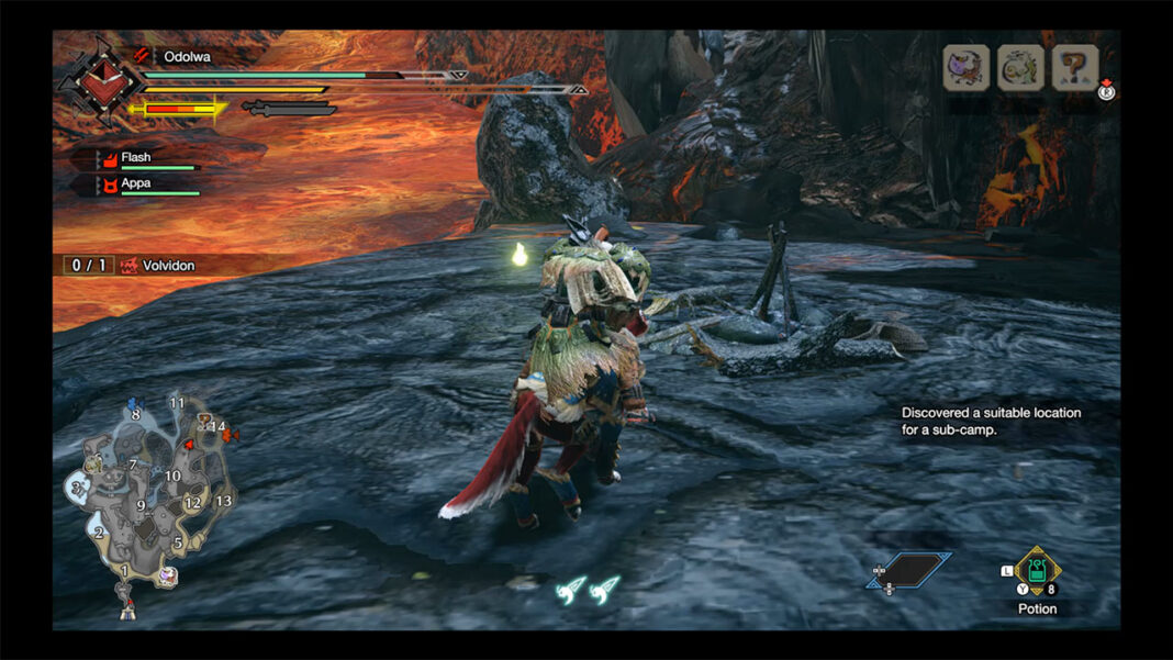 Monster-Hunter-Rise-How-To-Find-All-Lava-Caverns-Sub-Camps