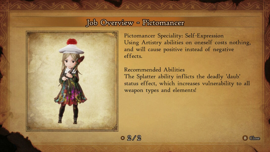 bravely-default-2-pictomancer-guide