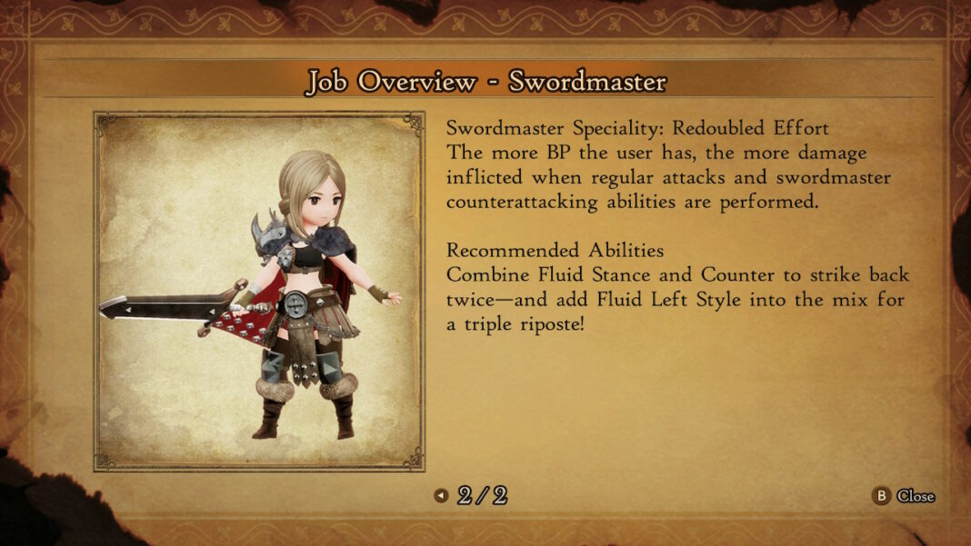 bravely-default-2-swordmaster-guide