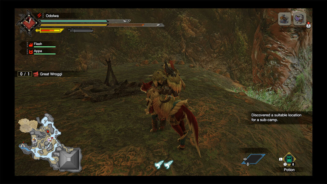 Monster-Hunter-Rise-How-To-Find-All-Flooded-Forest-Sub-Camps