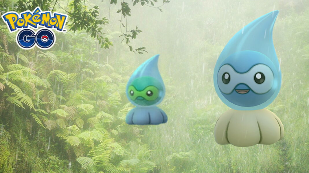 Pokemon-GO-How-to-Get-Shiny-Rainy-Form-Castform-During-Weather-Week