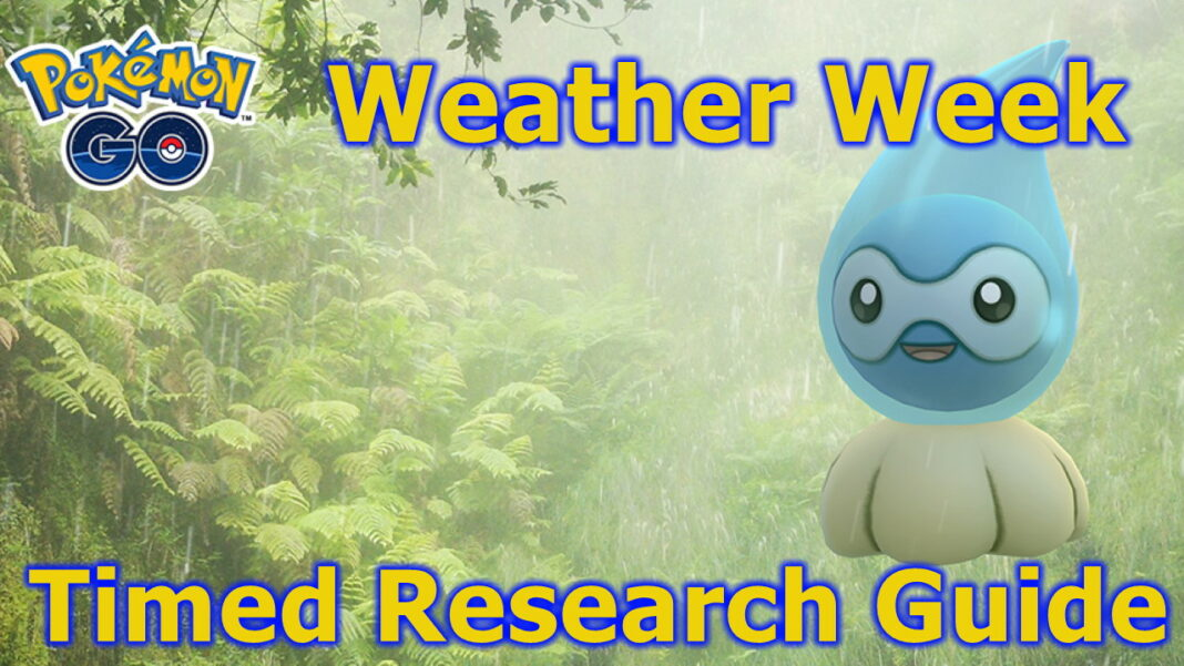 Pokemon-GO-Weather-Week-Timed-Research-Tasks-and-Rewards