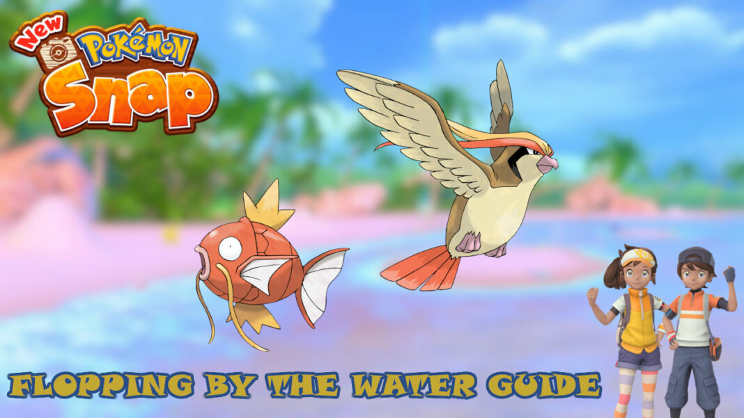 new-pokemon-snap-flopping-by-the-water